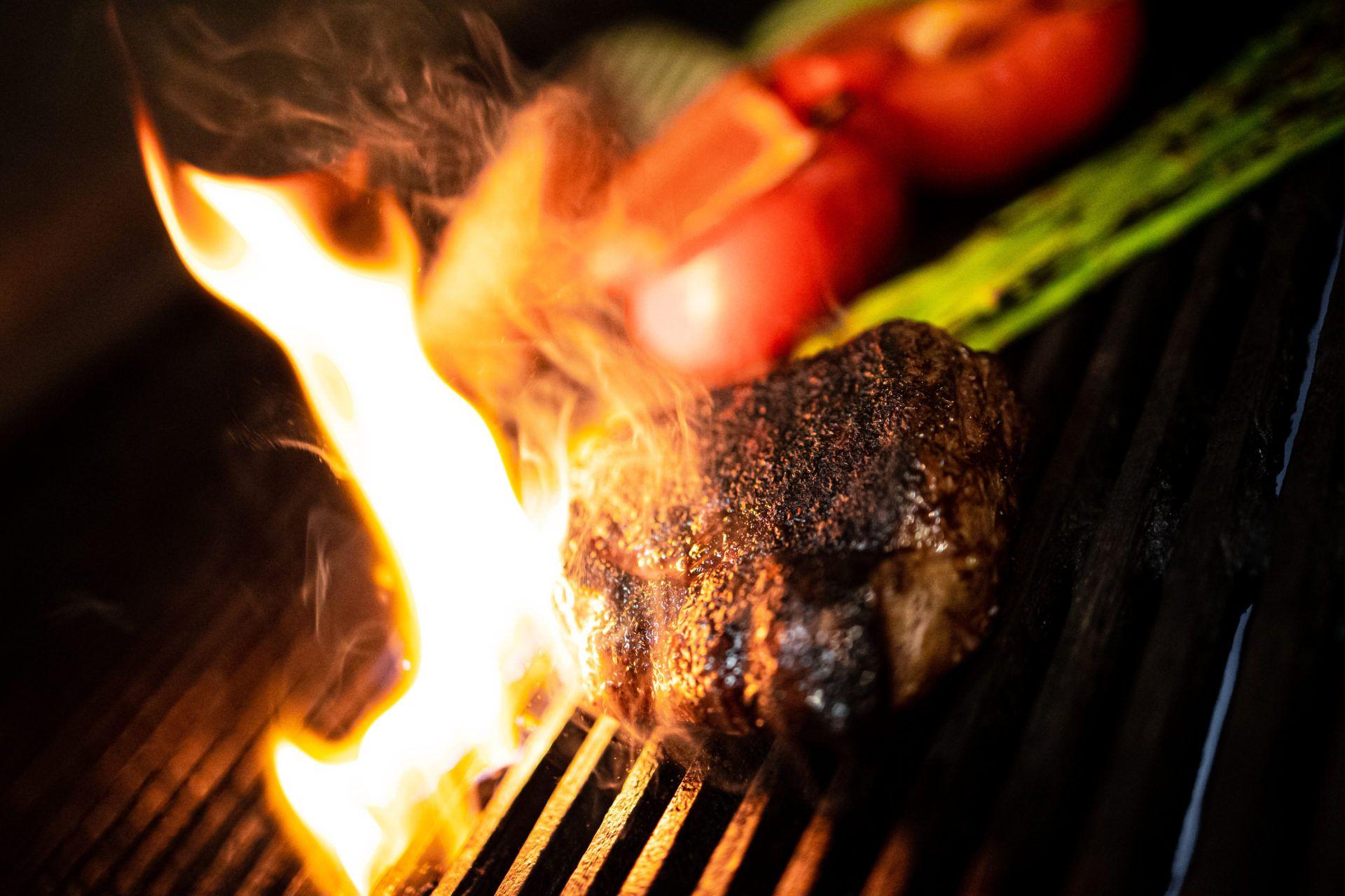 Sirloin Steak with Coffee Chili Cocoa Rub