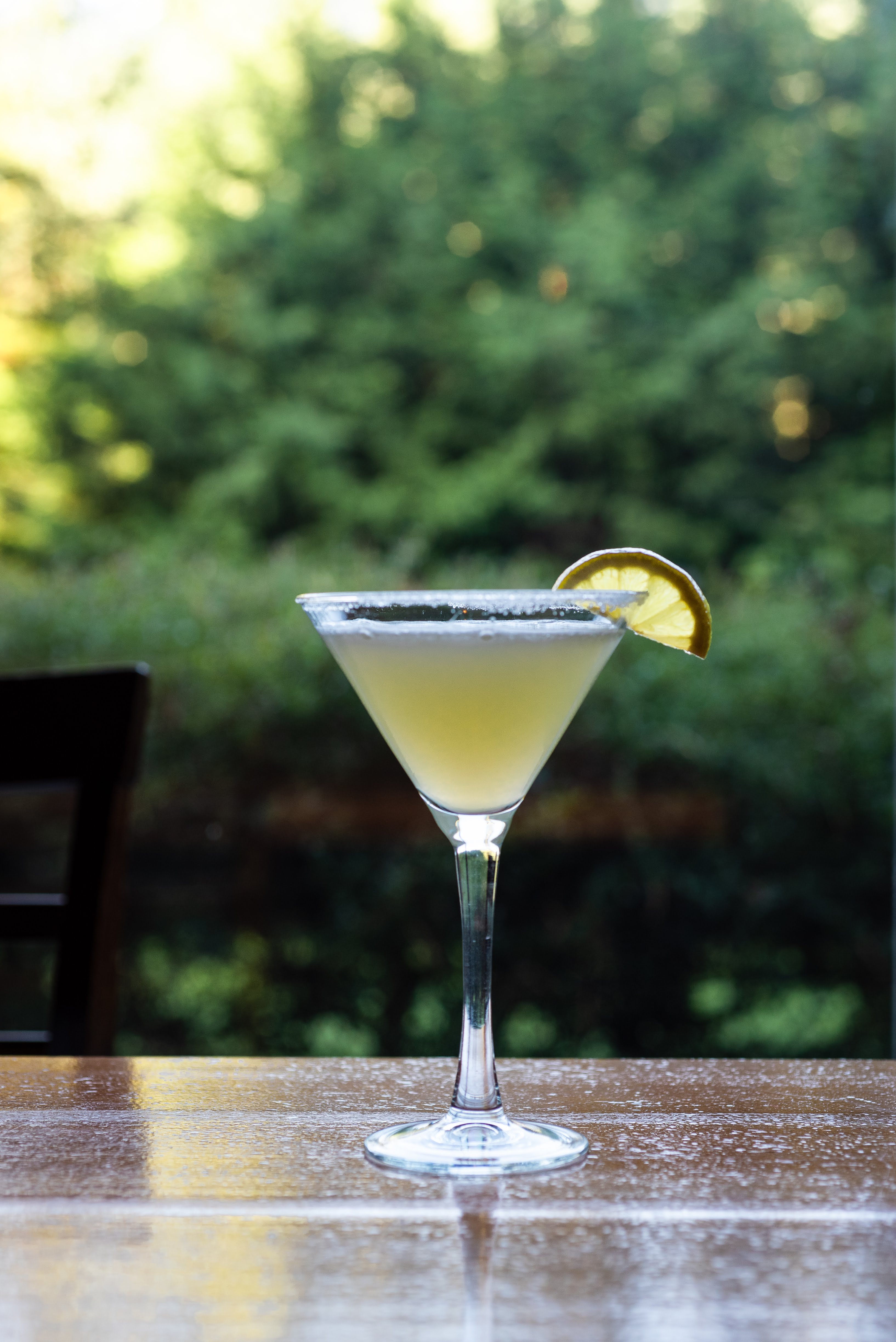 Vanilla Lemon Drop Martini